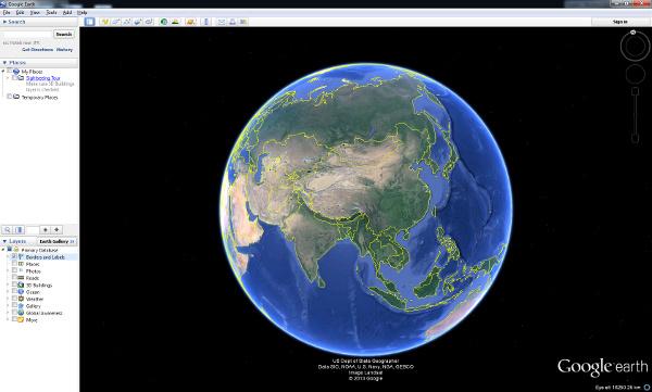 Maailmankartta Google Maps